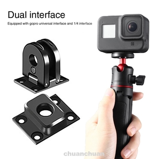Action Camera Mount Folding Quick Install Magnetic Durable Universal Dual Interface For GoPro Max