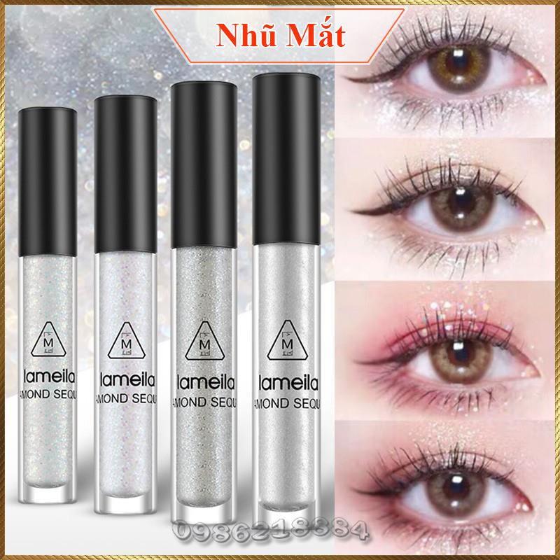 Nhũ mắt gel nhũ kim tuyến lấp lánh Diamond Lameila trang điểm mắt NDL4