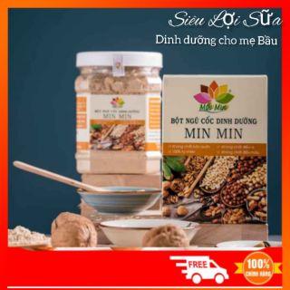 Ngũ Cốc Lợi Sữa Cao Cấp Min Min – Ngũ cốc dinh dưỡng 18 loại hạt Min Min – Ngũ cốc cho bà bầu Min Min