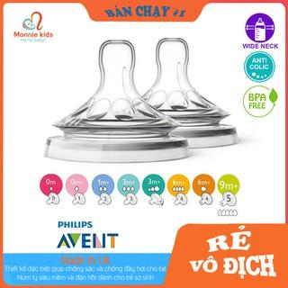 Núm Ti AVENT Núm Ti Thay Thế Bình Sữa Avent Natural Size 1-5 thumbnail