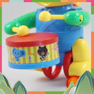 Đồ chơi xe đẩy voi đánh trống – Bibo 222 Cao Cấp