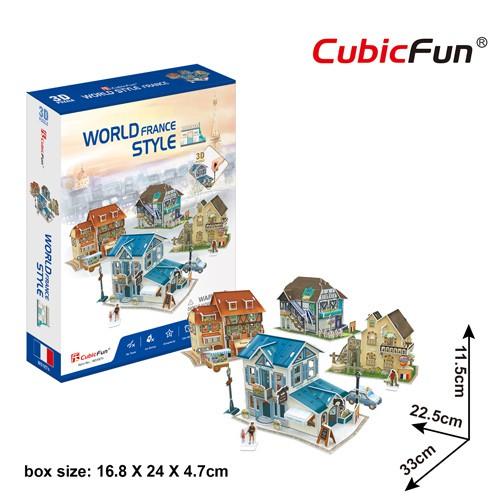 Mô hình giấy 3D CubicFun – France Style W3187h