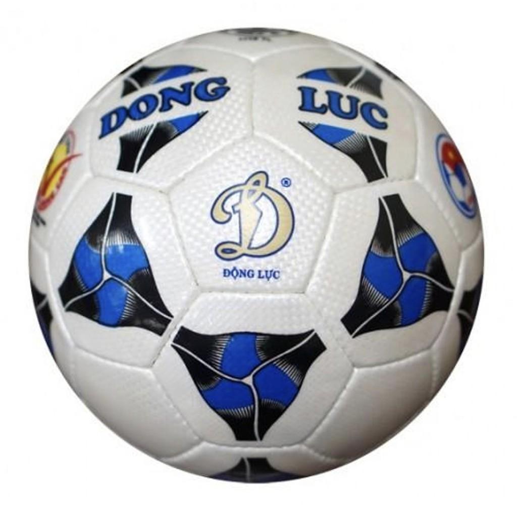 Bóng đá Động Lực chính hãng Cơ bắp UCV 3.05 số 4 + Tặng kim bơm bóng và lưới đựng bóng
