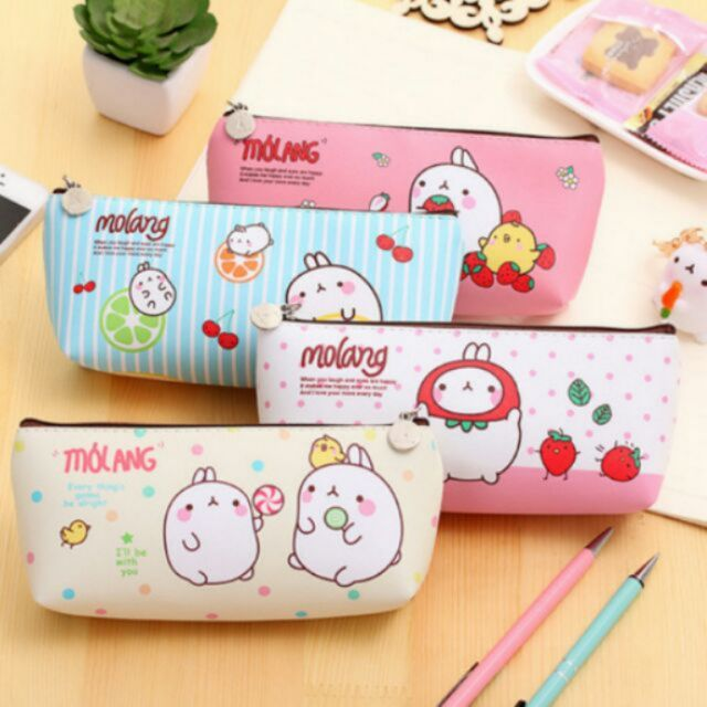 Hộp bút thỏ molang - 3177330 , 416303958 , 322_416303958 , 22000 , Hop-but-tho-molang-322_416303958 , shopee.vn , Hộp bút thỏ molang