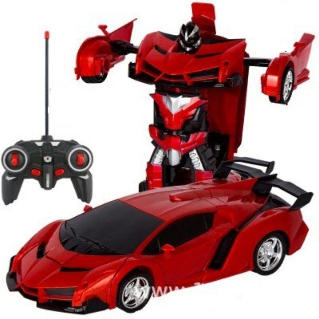 Siêu xe ôtô biến hình robot có điều khiển nha