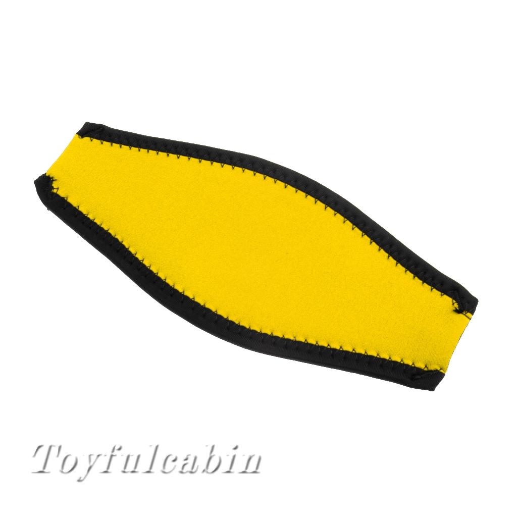 Replacment Neoprene Scuba Diving Snorkel Swim Mask Strap Cover - Universal Fit