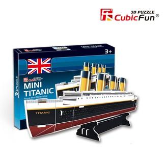 Mô hình lắp ghép 3D Cubic Fun – Tàu Titanic