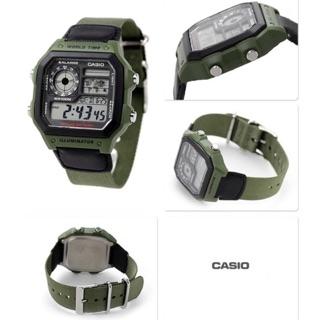 Đồng hồ nam Casio World Time AE1200WHB-3BVDF