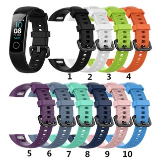 [Honor band 5] Dây đeo silicone thay thế cho vòng tay thông minh Honor Band 4 Honor Band 5 thumbnail