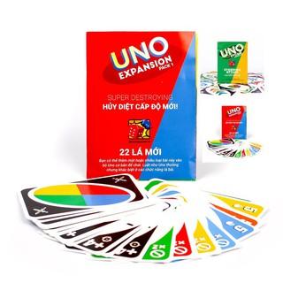[Bán Sỉ] 10 bộ Uno mở rộng 1 và Uno mở rộng 2