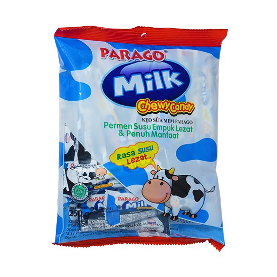 Kẹo Sữa Mềm Parago Gói 250g