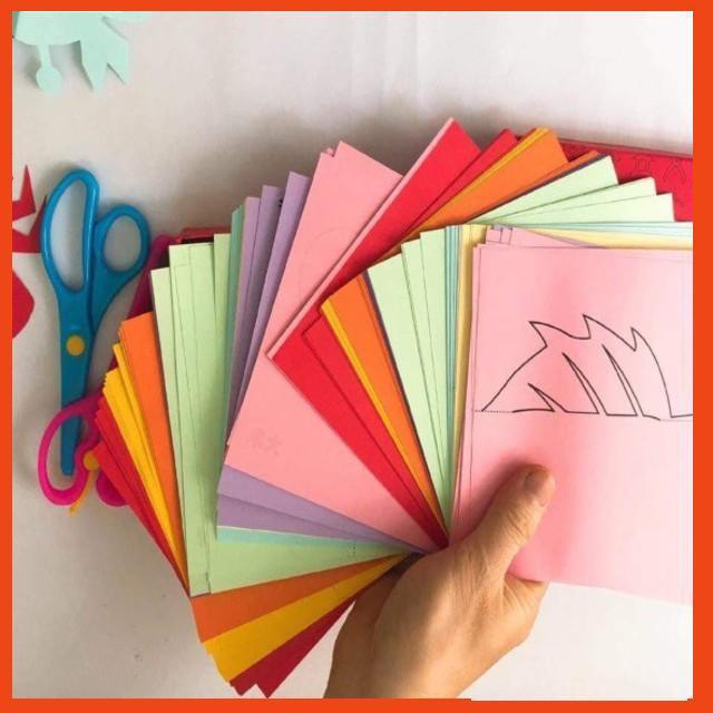 Bộ đồ chơi cắt giấy tạo hình cho bé – BẮC TỪ LIÊM