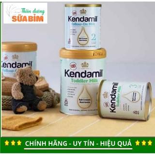 (KÈM QUÀ) Sữa Kendamil số 1,2,3 lon 900g
