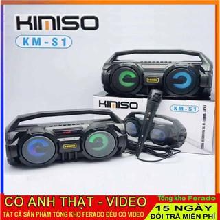Loa karoke bluetooth Kimiso KM-S1 có kèm mic