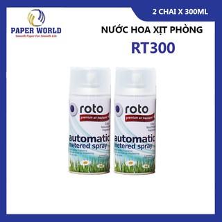 Combo 2 chai nước hoa xịt phòng nhiều mùi hương giúp khử mùi, làm sạch không khí 300ml