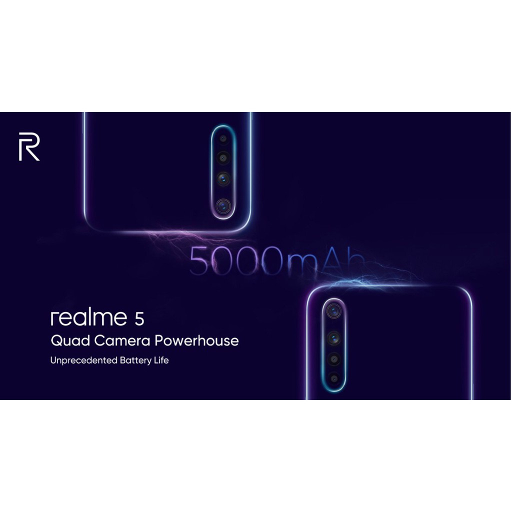 Hình ảnh [NHẬP MÃ REALME5, GIẢM NGAY 100K] Điện thoại Realme 5 3GB/64GB-6