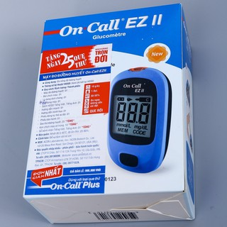 Máy đo đường huyết On Call EZ II