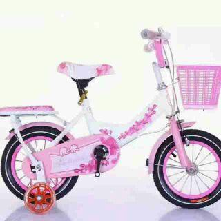 Xe đạp hoa hồng cho bé từ 2 đến 5 tuổi (12-14inh)