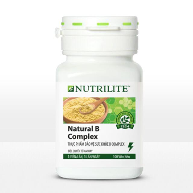 Thực phẩm bổ sung Vitamin B Amway, (Vitamin B Nutrilite) (100 viên) - 2621318 , 216176088 , 322_216176088 , 272000 , Thuc-pham-bo-sung-Vitamin-B-Amway-Vitamin-B-Nutrilite-100-vien-322_216176088 , shopee.vn , Thực phẩm bổ sung Vitamin B Amway, (Vitamin B Nutrilite) (100 viên)