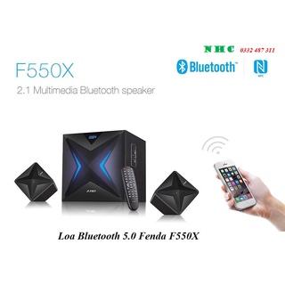Loa Bluetooth 5.0 Fenda F550X 56W Có khe Cắm USB và Thẻ Nhớ - Hàng Chính Hãng thumbnail