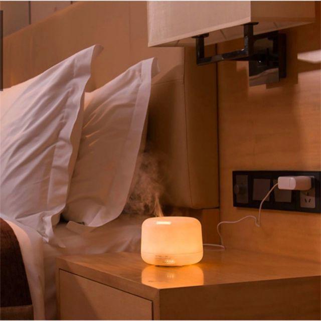 Máy Khuếch Tán Tinh Dầu Siêu Âm Loại Lớn có Đèn LED đổi màu có Remote Aroma Life