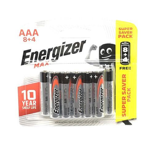 Pin AAA Energizer max vỉ 12 viên