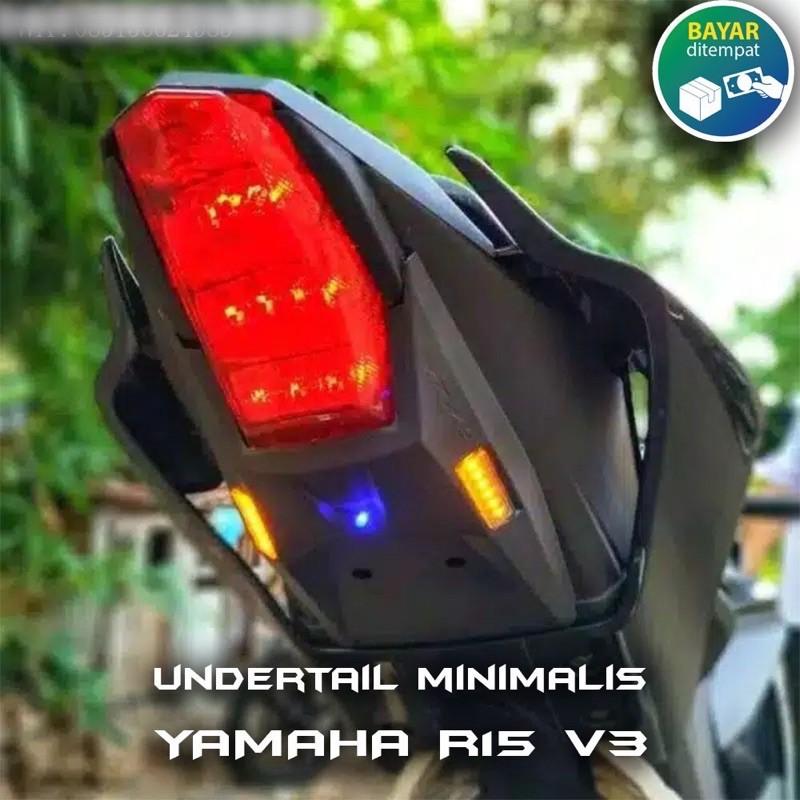 ốp gầm vuốt đuôi tích hợp xi nhan yamaha r15 r15v3 cbr150 gsx150 r150 s150in