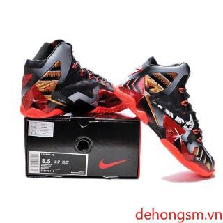 Miễn phí vận chuyển [Spot] Nike LeBron James 11 Giày bóng rổ cao cấp nguyên bản 100% -509
