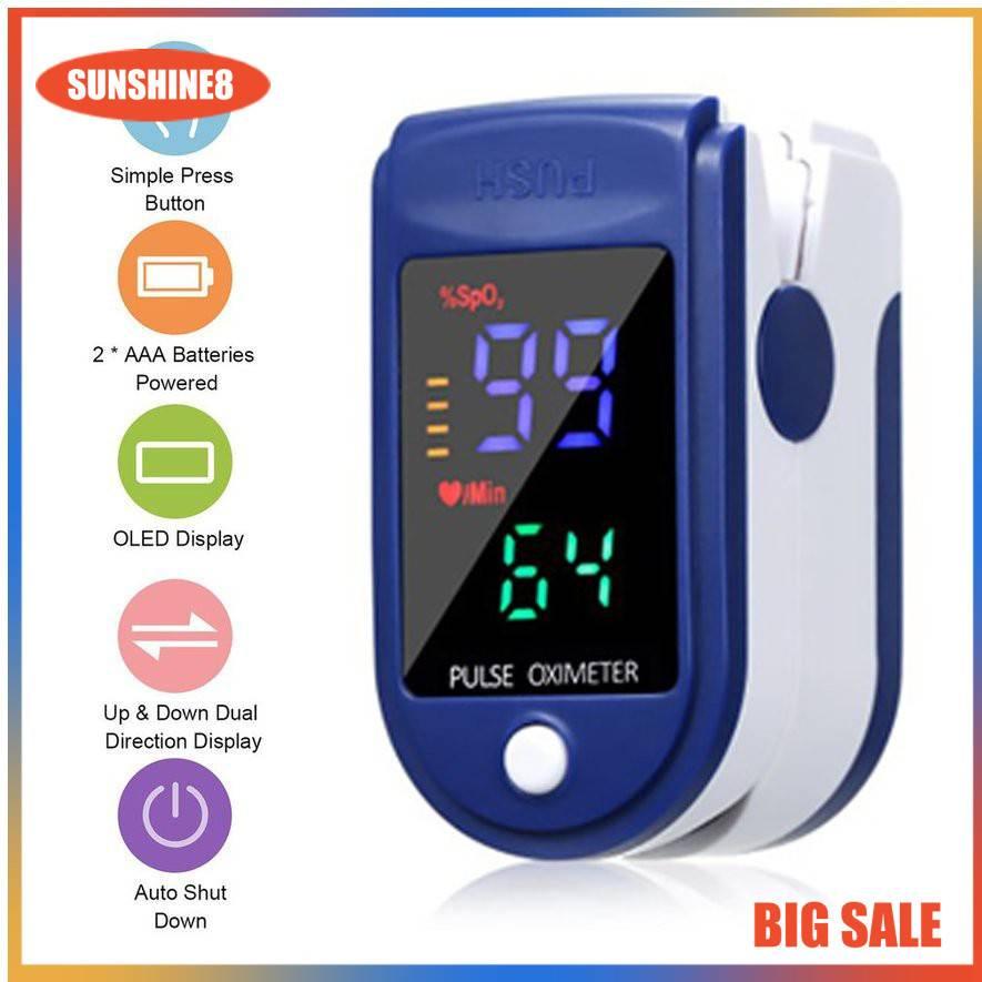 Oximeter/Máy đo nồng độ Oxy trong máu và nhịp tim SPO2 phên bản 2021