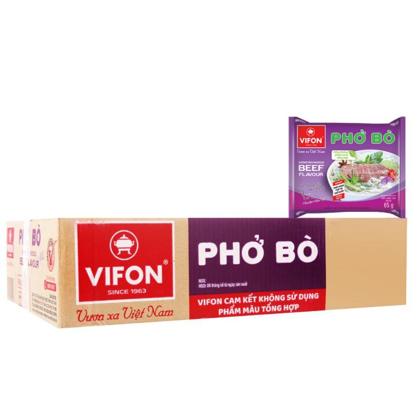 Gói phở Bò ăn liền Vifon 65g
