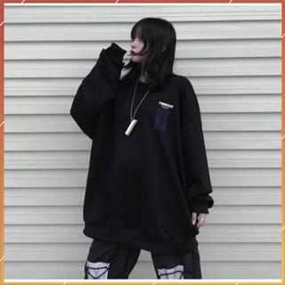 1hitshop ÁO SWEATER TIRCCI unisex nam nữ, áo sweater unisex 2 màu trắng đen siêu đẹp