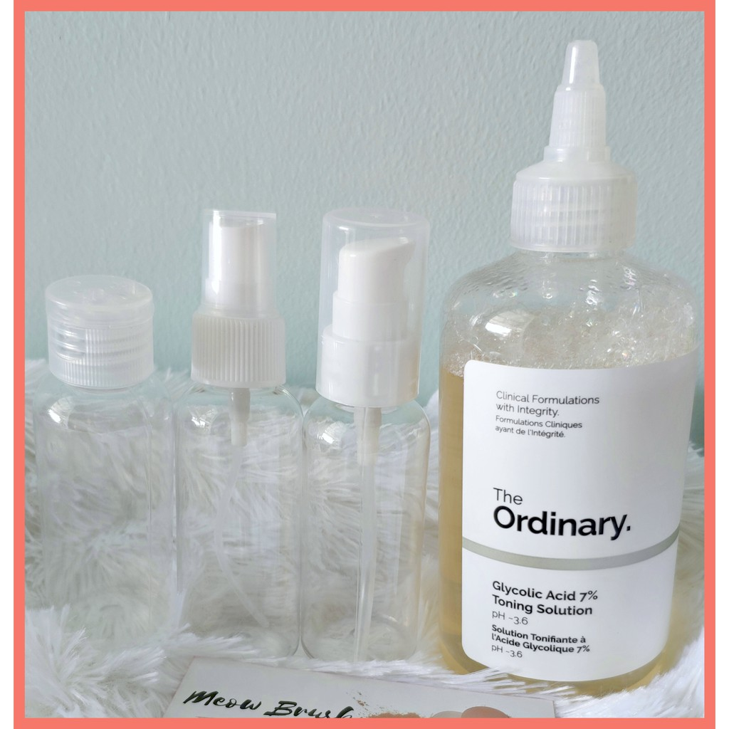[Chiết-Share 50ml] // The Ordinary Glycolic acid 7% toning solution