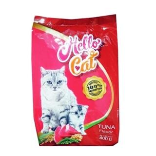 (400g) Thức ăn hạt cho mèo Hello Cat - Vị Cá Ngừ (NK Thái Lan) thumbnail