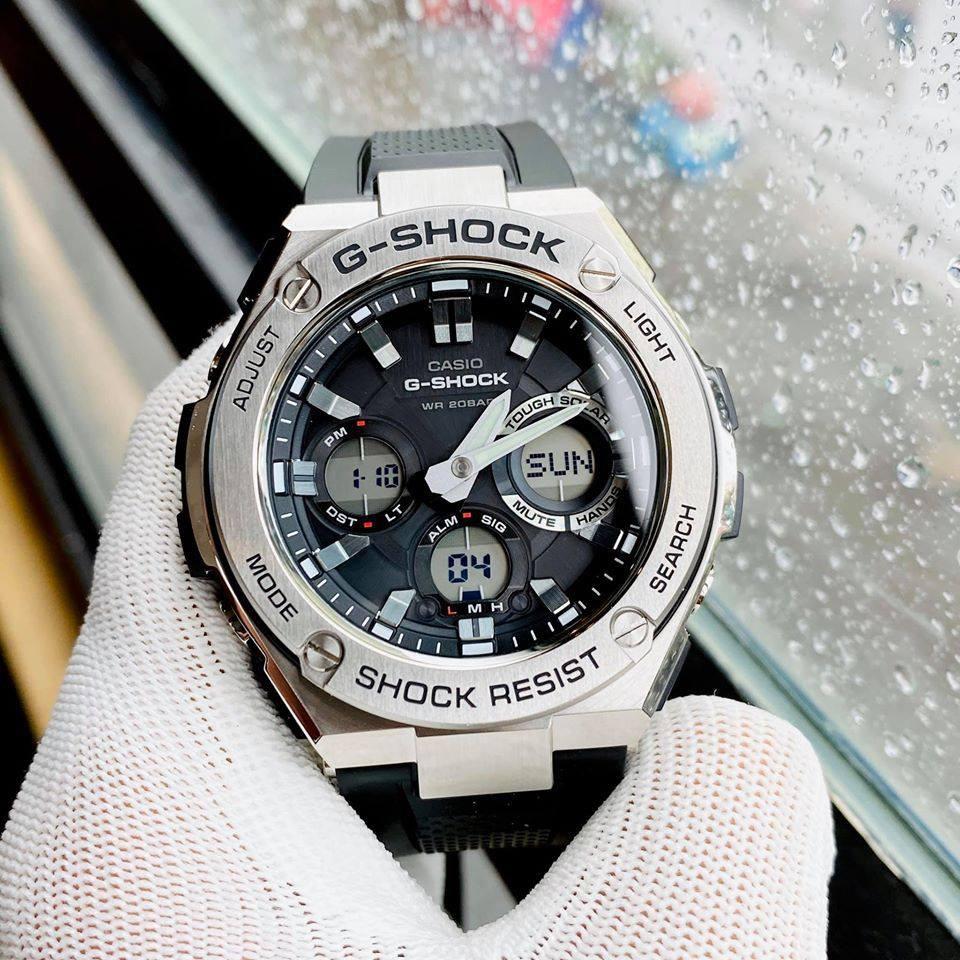 Đồng Hồ Nam Casio G-SHOCK GST-S110-1A - Chính Hãng