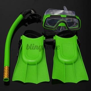 & Snorkel Mask Junior Fin Scuba Swimming Diving Snorkelling Holiday Kids Set HOT SALE