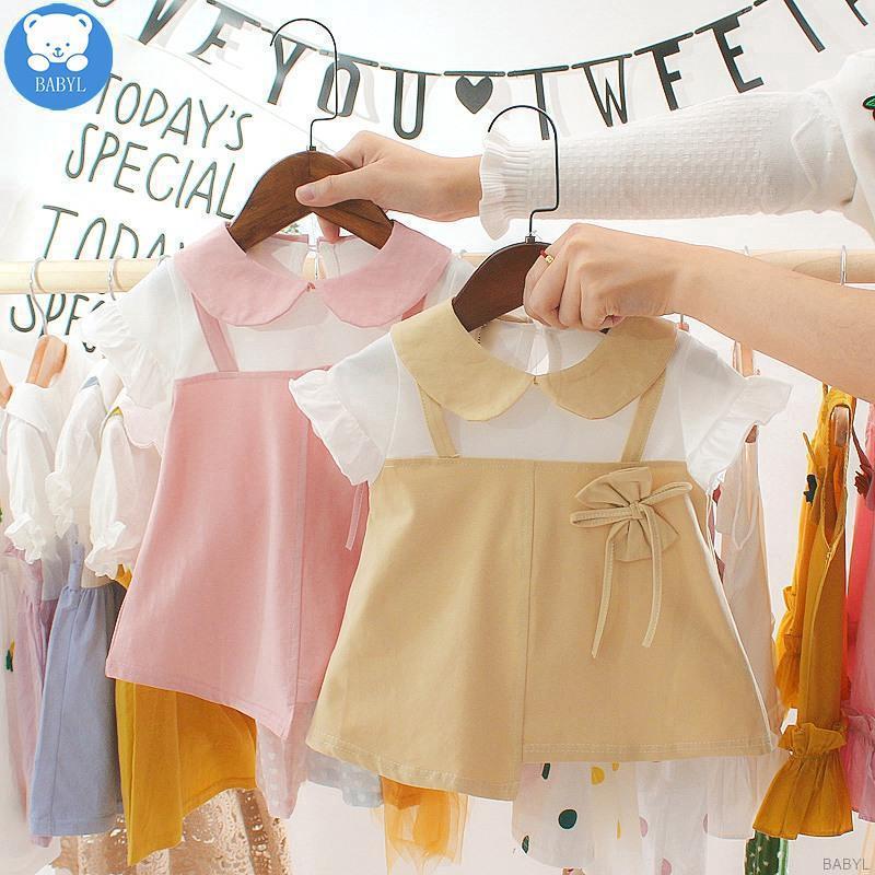 Đầm xòe công chúa kiểu dáng Hàn Quốc dành cho bé gái