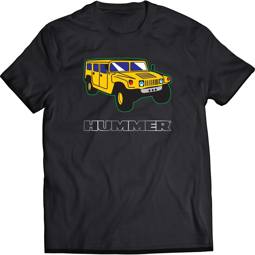 Hummer Car Black Men'T-Shirt Father's Day Gift