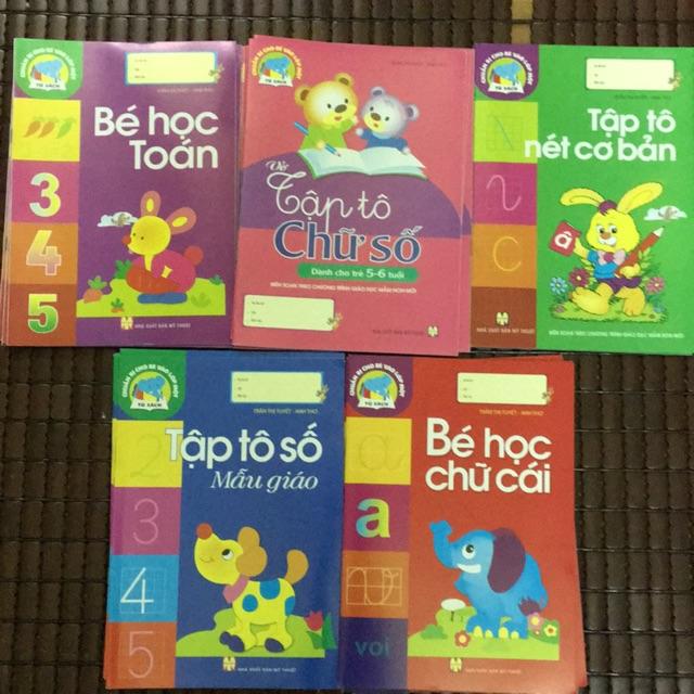 Sách - Combo sách Chuẩn bị cho bé vào lớp 1 ( gồm 5 cuốn )