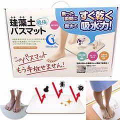 [BIG SALE] Thảm đá chùi chân siêu thấm Nhật nội địa màu ngẫu nhiên