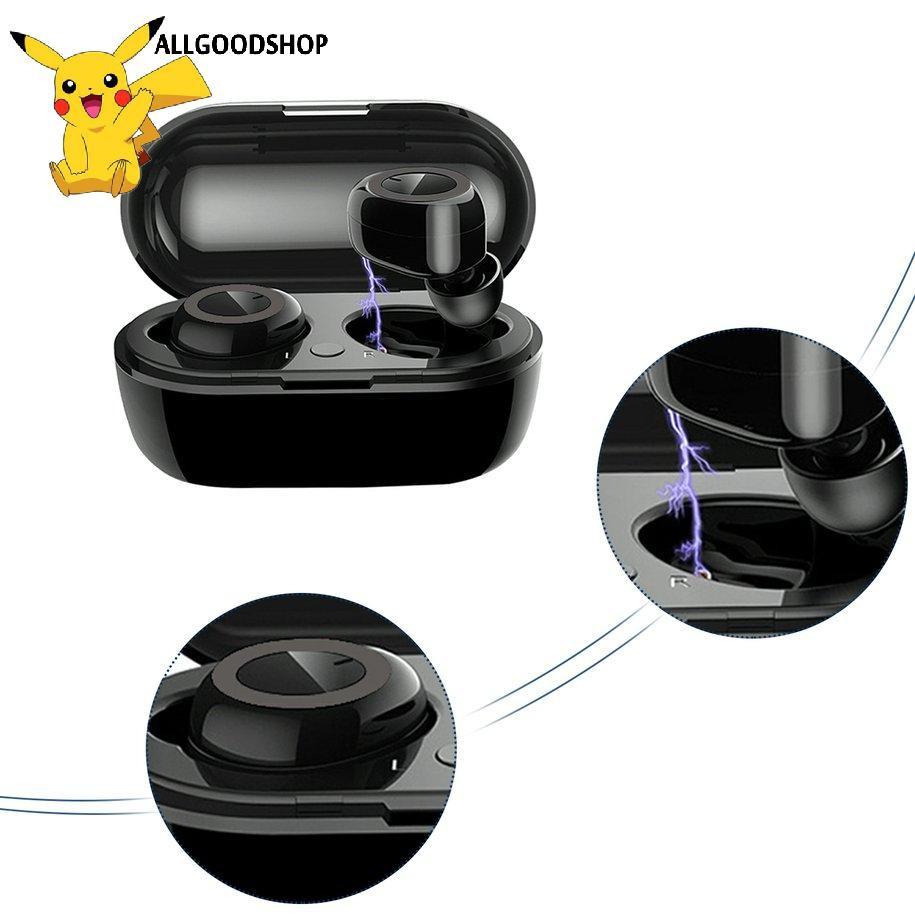 Tai Nghe Thể Thao Không Dây Bluetooth 5.0 Với Ngăn Sạc Tiện Dụng