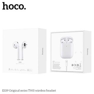 [Mã ELFLASH5 giảm 20K đơn 50K] Tai nghe Hoco ES 39 (hỗ trợ sạc ko dây,định vị, đổi tên) (Chính hãng, BH 1 năm)