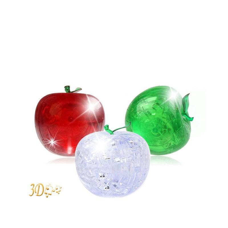 Bộ xếp hình quả táo 3D 45 miếng ghép