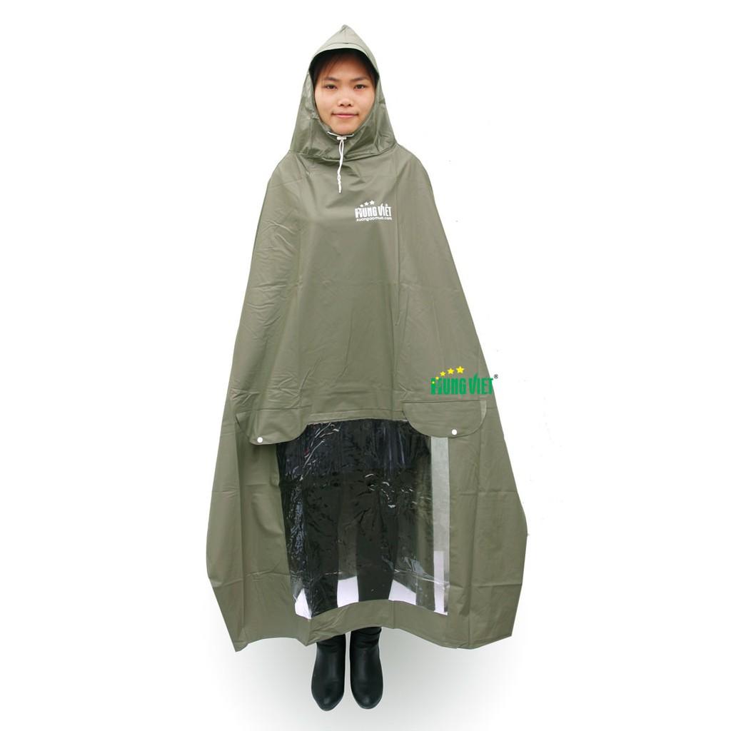 Áo mưa PVC Hưng Việt chống thấm tuyệt đối