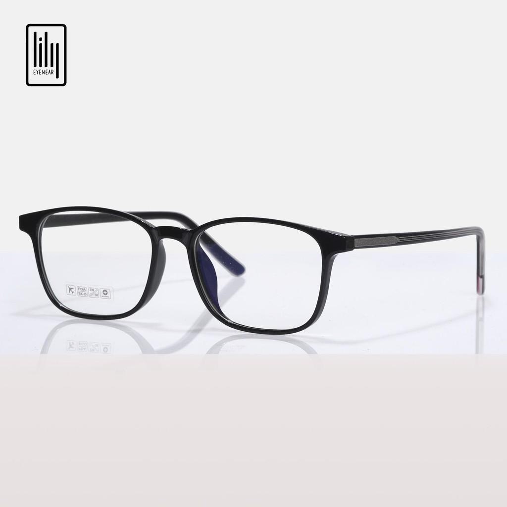 Gọng kính cận Lilyeyewear thiết kế mắt vuông, đa dạng màu sắc dễ lựa chọn 8245
