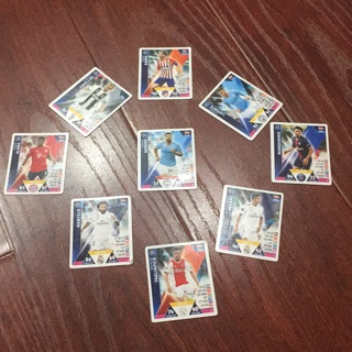Thẻ poca 8 hại vệ tặng tiền đạo aguero