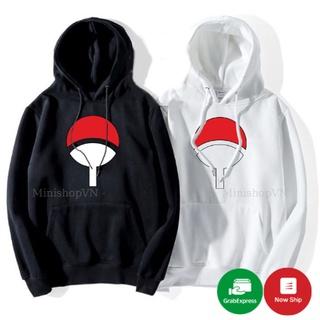 Áo hoodie Naruto Uchiha unisex chất nỉ bông ấm