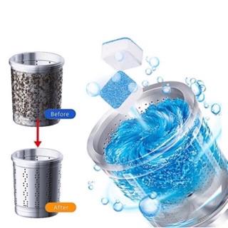 [Hộp 12 Viên] Viên Tẩy Vệ Sinh Lồng Máy Giặt Nhật Bản| Diệt khuẩn và Tẩy chất cặn Lồng máy giặt hiệu quả