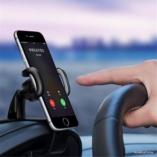 Giá đỡ kẹp điện thoại kẹp Taplo ô tô xe hơi chắc chắn xoay 360 độ