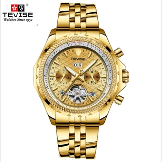 Đồng hồ nam Thụy Sĩ TEVISE Dafei đồng hồ cơ tự động đồng hồ đeo tay tourbillon chống thấm nước T841A