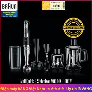 Máy xay cầm tay thế hệ mới MultiQuick 9 Hand blender Braun MQ9047 X